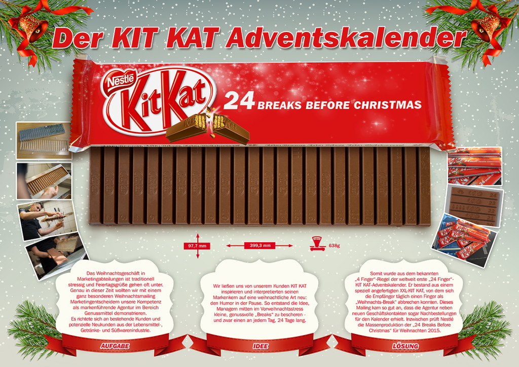 KIT KAT Adventskalender