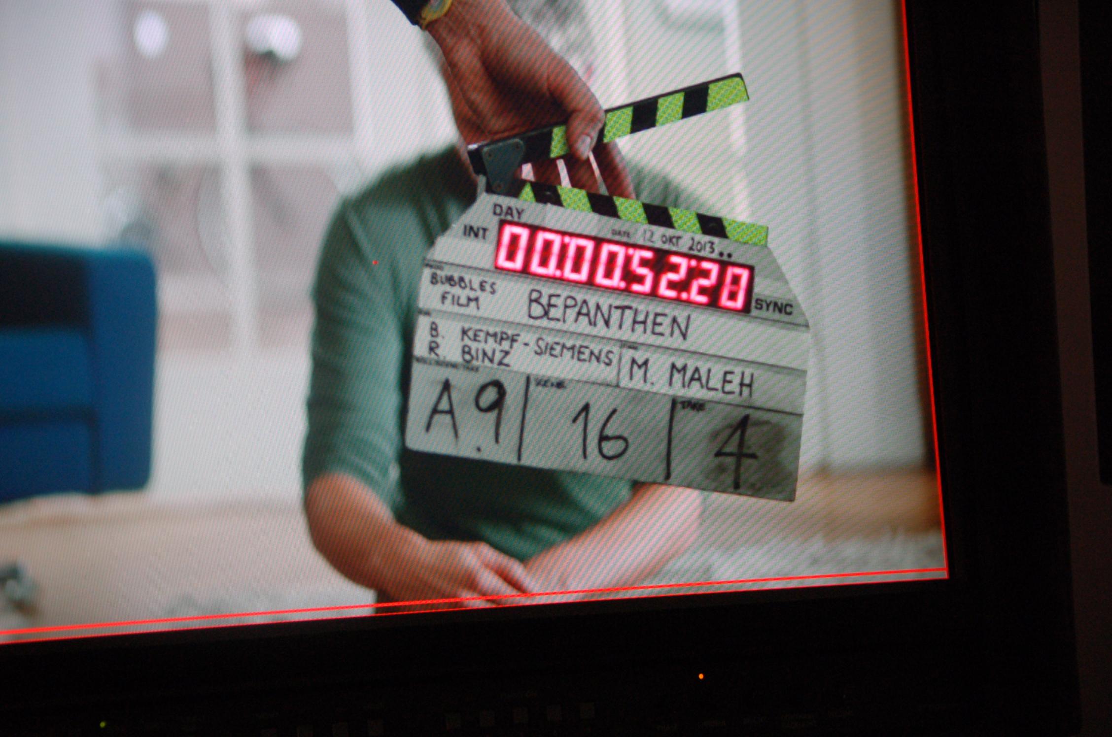Doppel-Regie, außergewöhnliches Casting und ein vollgepackter Drehtag