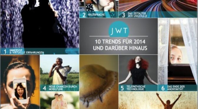 JWT — 10 Trends für 2014