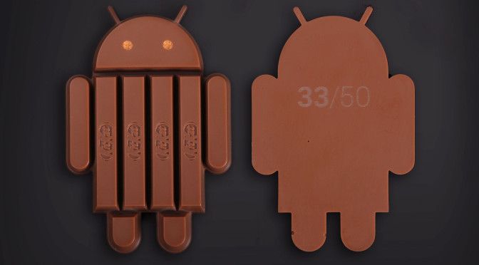Limited Kit Kat Android